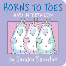 Horns to Toes and in between av Sandra Boynton (Annet bokformat)