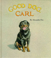 Good Dog, Carl av Alexandra Day (Innbundet)