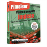 Omslag - Pimsleur English for Italian Speakers Quick & Simple Course - Level 1 Lessons 1-8 CD