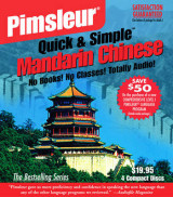Omslag - Pimsleur Chinese (Mandarin) Quick & Simple Course - Level 1 Lessons 1-8 CD: Lessons 1-8 Level 1