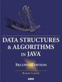 Data Structures and Algorithms in Java av Robert Lafore (Heftet)