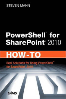 PowerShell for SharePoint 2010 How-To av Steven Mann (Heftet)