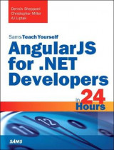 Omslag - AngularJS for .NET Developers in 24 Hours, Sams Teach Yourself