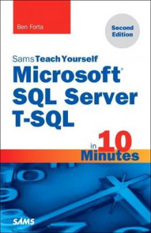 Microsoft SQL Server T-SQL in 10 Minutes, Sams Teach Yourself av Ben Forta (Heftet)