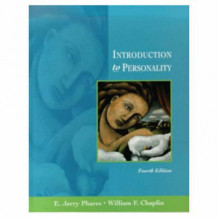 Introduction to Personality av E.Jerry Phares og W.F. Chaplin (Innbundet)