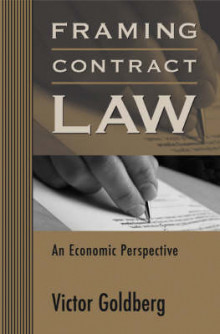 Framing Contract Law av Victor Goldberg (Innbundet)