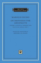 On Dionysius the Areopagite, Volume 1: Vol. 1 av Marsilio Ficino (Innbundet)