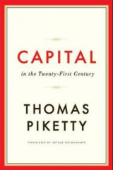 Omslag - Capital in the twenty-first century