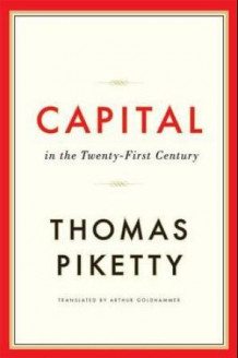 Capital in the twenty-first century av Thomas Piketty (Innbundet)