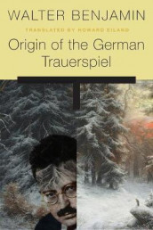 Origin of the German Trauerspiel av Walter Benjamin (Heftet)