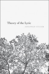 Omslag - Theory of the Lyric