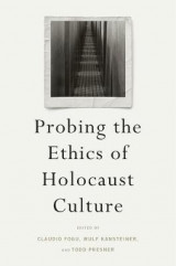 Omslag - Probing the Ethics of Holocaust Culture
