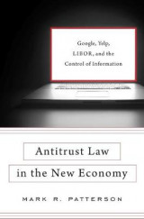 Omslag - Antitrust Law in the New Economy