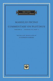 Commentary on Plotinus, Volume 4 av Marsilio Ficino (Innbundet)