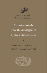 Omslag - Christian Novels from the Menologion of Symeon Metaphrastes