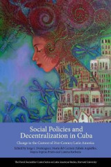 Omslag - Social Policies and Decentralization in Cuba