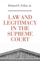 Omslag - Law and Legitimacy in the Supreme Court