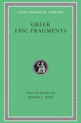 Omslag - Greek Epic Fragments