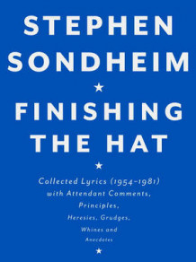 Finishing the Hat av Stephen Sondheim (Innbundet)