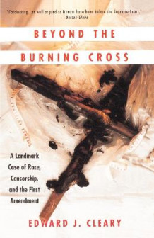 Beyond the Burning Cross: Vintage Books Edition av Edward J. Cleary (Heftet)