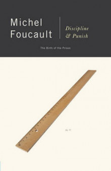 Discipline and Punish av Michel Foucalt (Heftet)