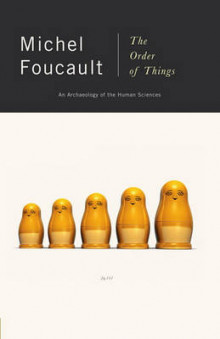 The Order of Things av Michel Foucalt (Heftet)