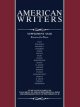 Omslag - American Writers, Supplement XXVII