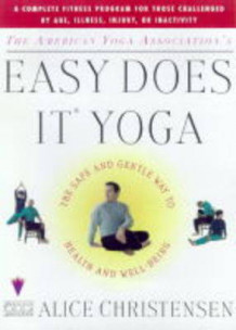Easy Does it Yoga av Alice Christensen (Heftet)