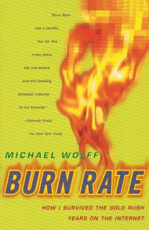 Burn rate av Michael Wolff (Innbundet)