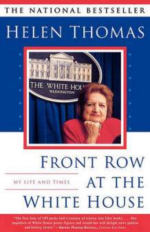 Front Row at the White House av Helen Thomas (Heftet)