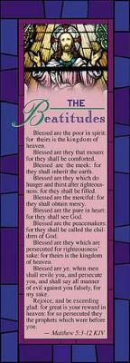Omslag - Beatitudes Bookmark Pack 25