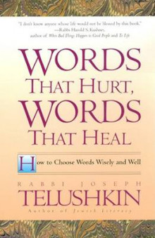 Words That Hurt, Words That Heal av Rabbi Joseph Telushkin (Heftet)