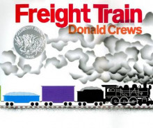 Freight Train av Donald Crews (Innbundet)