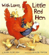 Omslag - With Love, Little Red Hen