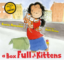 A Box Full of Kittens av Sonia Manzano (Innbundet)