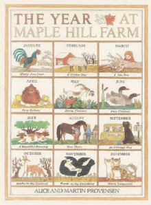 The Year at Maple Hill Farm av Alice Provensen, Martin Provensen og Martin Provensen (Heftet)