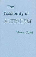 The Possibility of Altruism av Thomas Nagel (Heftet)