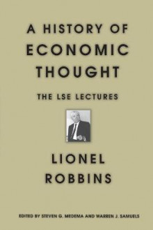 A History of Economic Thought av Lionel Robbins (Heftet)