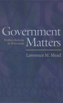 Government Matters av Lawrence M. Mead (Heftet)