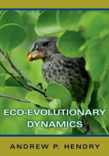 Omslag - Eco-Evolutionary Dynamics