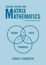 Omslag - Scalar, Vector, and Matrix Mathematics