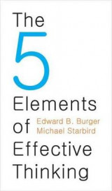 Omslag - The 5 Elements of Effective Thinking