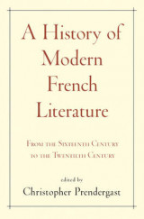 Omslag - A History of Modern French Literature