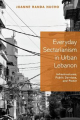 Omslag - Everyday Sectarianism in Urban Lebanon