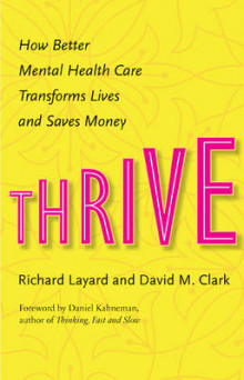 Thrive av Richard Layard og David M. Clark (Innbundet)