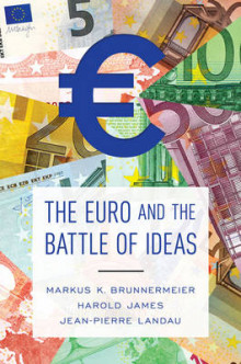 The Euro and the Battle of Ideas av Markus K. Brunnermeier, Harold James og Jean-Pierre Landau (Innbundet)