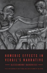 Omslag - Homeric Effects in Vergil's Narrative