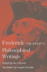 Omslag - Frederick the Great's Philosophical Writings