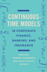 Omslag - Continuous-Time Models in Corporate Finance, Banking, and Insurance