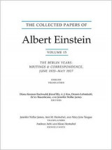 Omslag - The Collected Papers of Albert Einstein, Volume 15 (Translation Supplement)